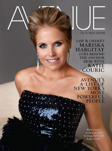 KATIE COURIC - AVENUE MAGAZINE - October, 2009 - *Boones' SP-Exclusives*