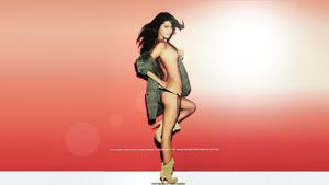 Grace Park x2 Topless-ish Wallpapers