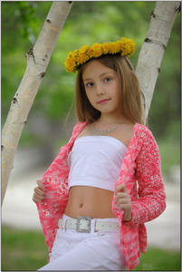 Silver Star Alissa P Teen Model