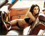 Emmanuelle Chriqui in bikini and topless (covered) in GQ Magazine - HQ Scans